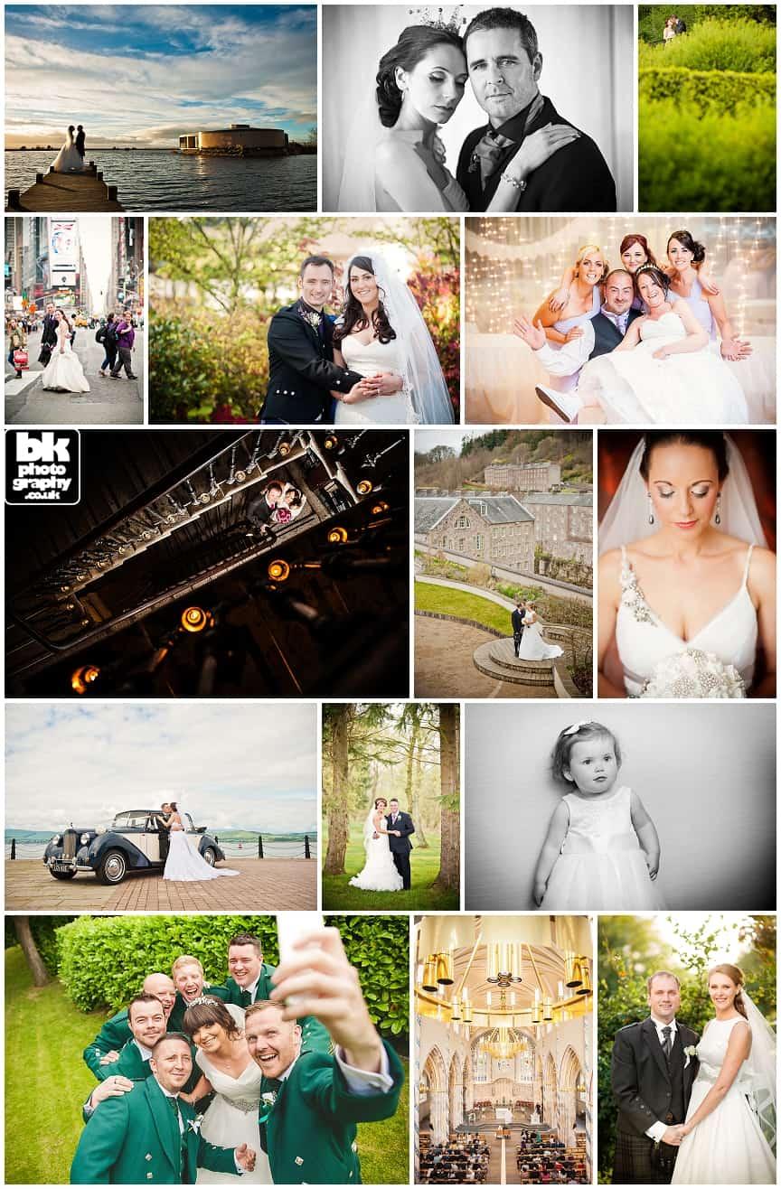 Wedding Photography in Glasgow BK Photography
