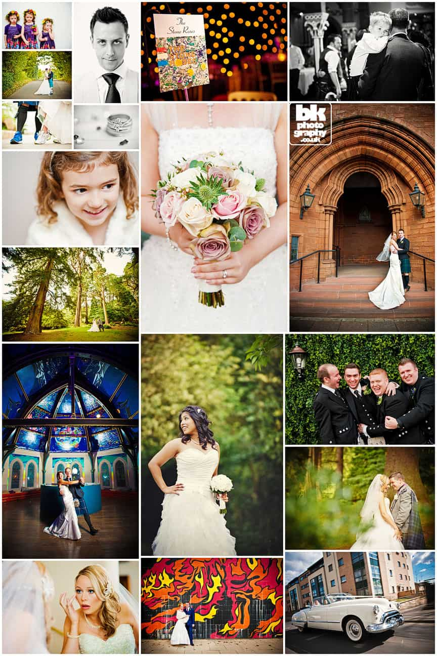 Wedding Photographer in Glasgow BK Photography