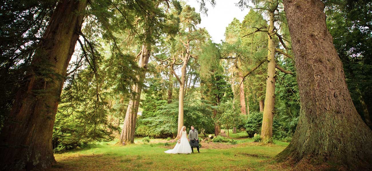 Wedding Photographers at Culcreuch Castle Hotel by BK Photography
