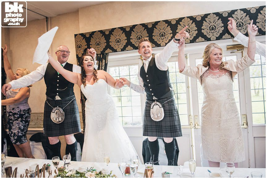 BK Photography captures the wedding moments in Glasgow & Scotland