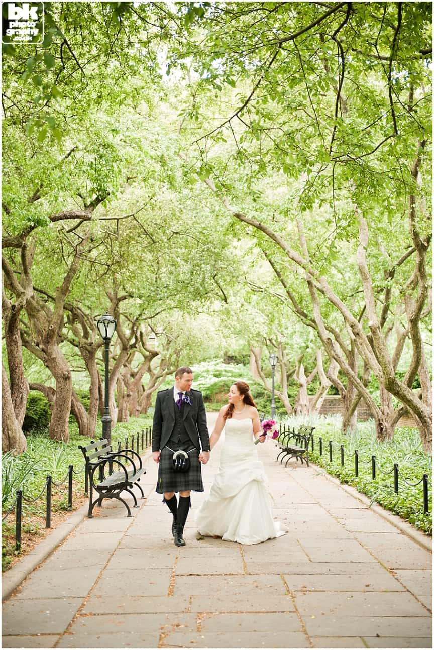 New York Wedding Photography by Glasgow based BK Photography