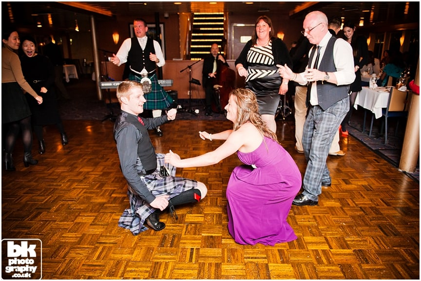 Fun Wedding Photographers by Glasgow based BK Photography