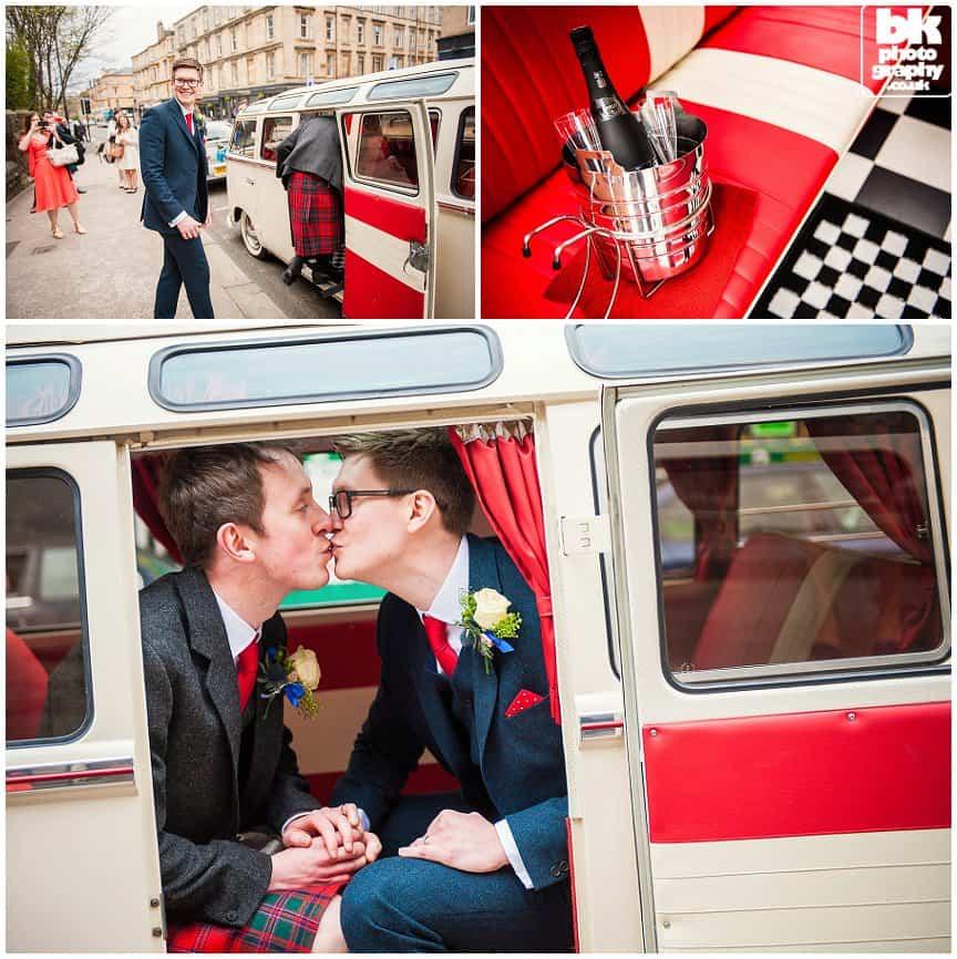 Volkswagen Bus Wedding Photography-016