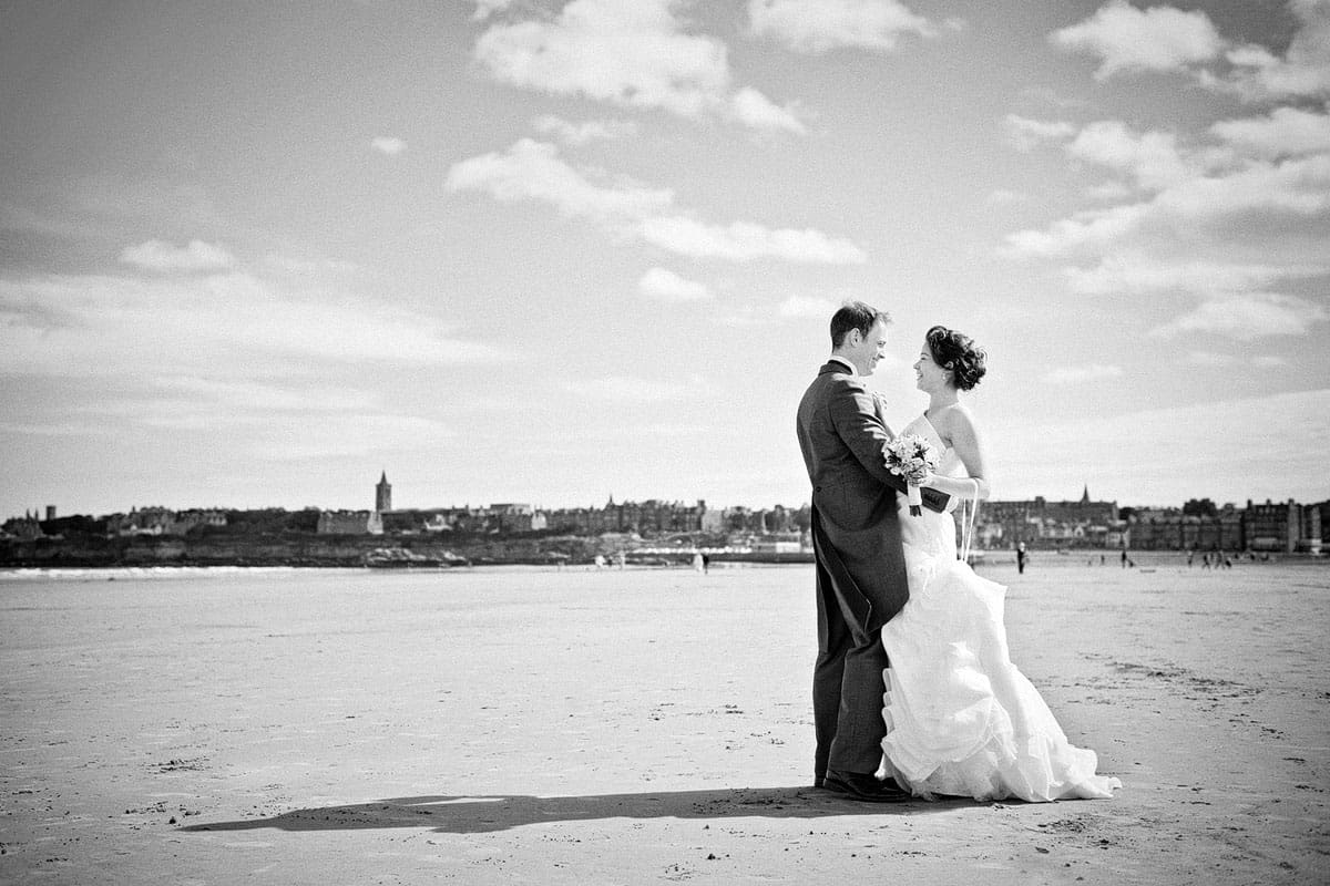 St Andrews is one of BK Photography's favourite Scotland wedding venues