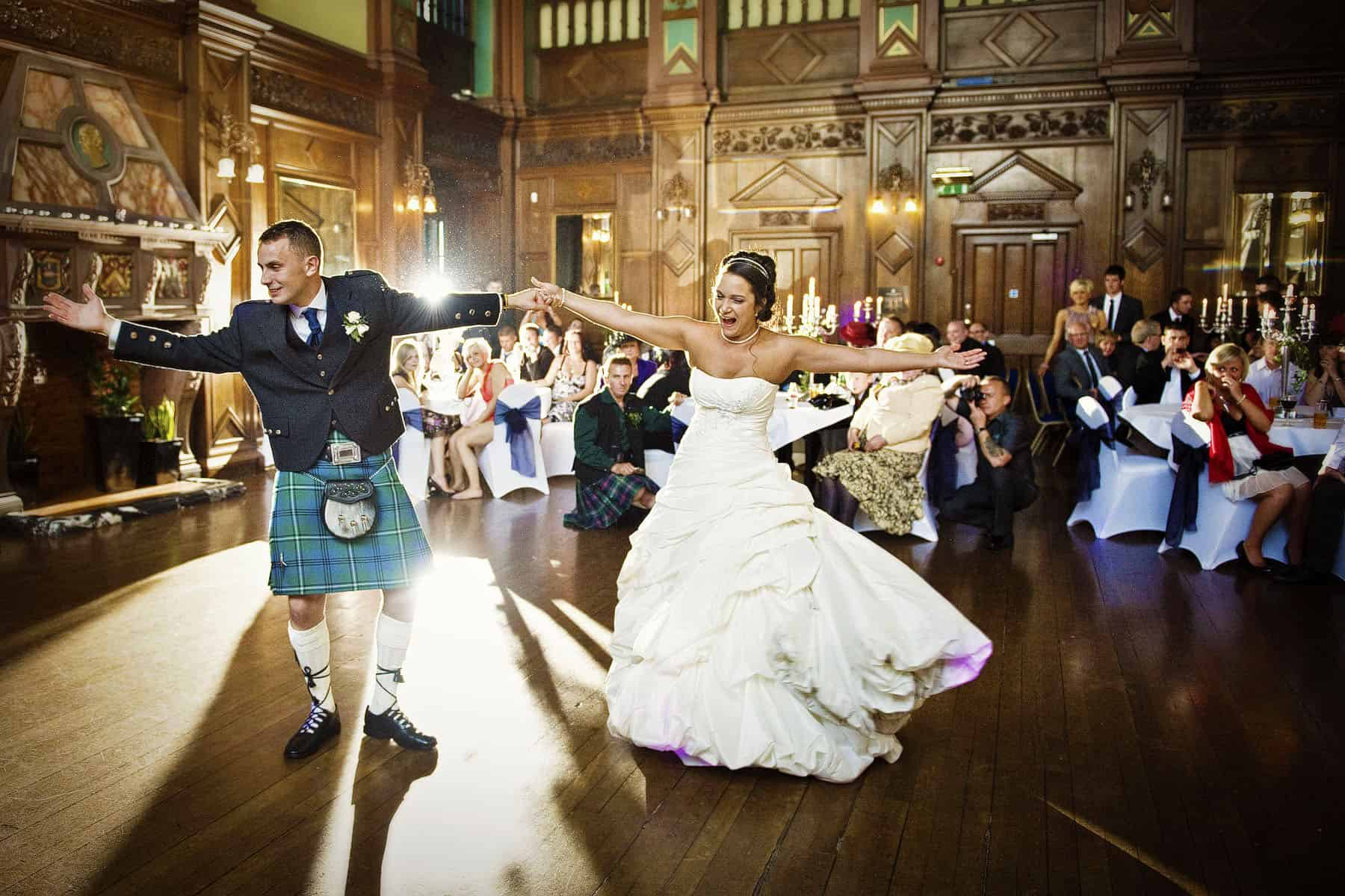 Beautiful and creative wedding photography in Scotland by Glasgow Wedding Photographer BK Photography
