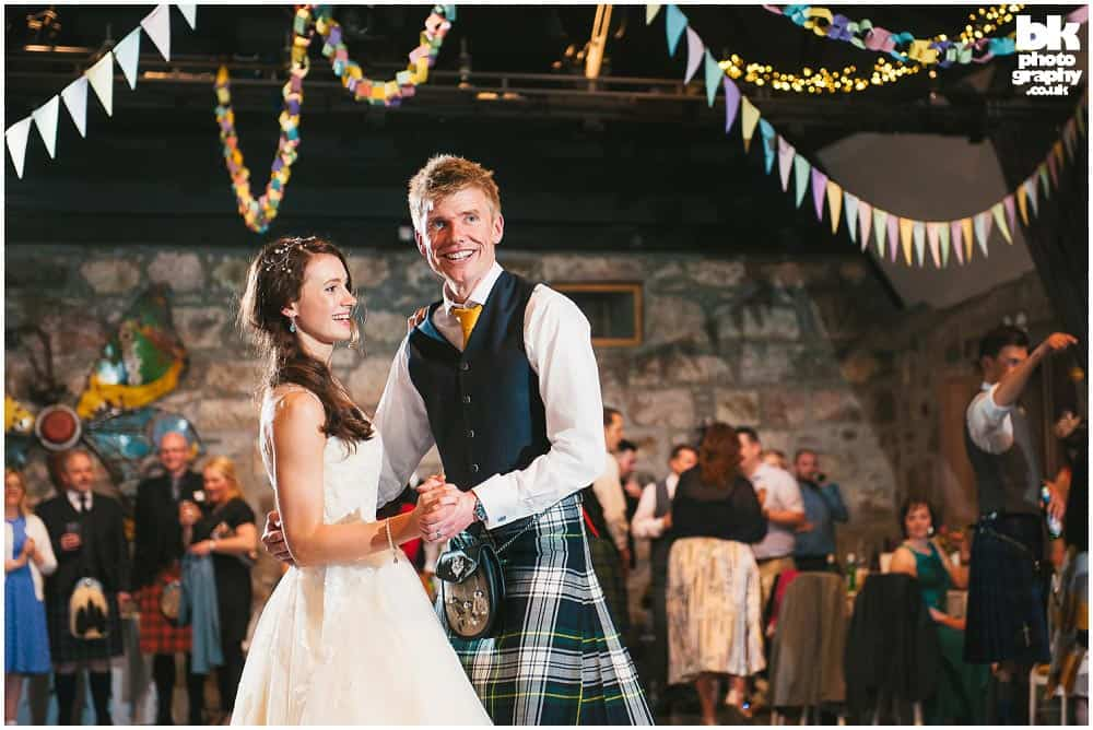 Wedding Photographer Scotland by BK Photography