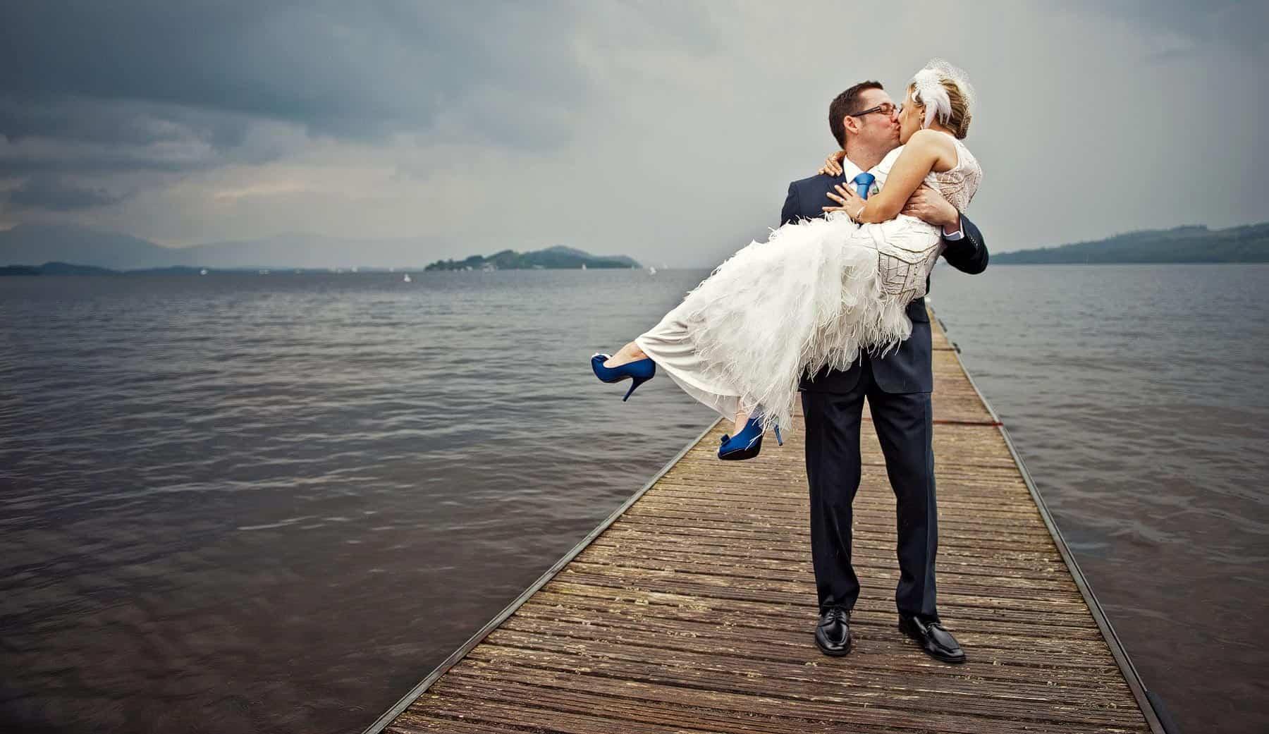 Creative Wedding Photographer in Glasgow - BK Wedding Photography