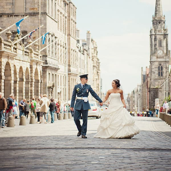 Edinburgh Wedding Photographers | Natalie & Barry