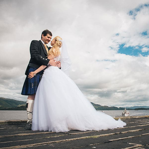 Lodge on Loch Lomond Wedding Photographer | Delphine & Alexander