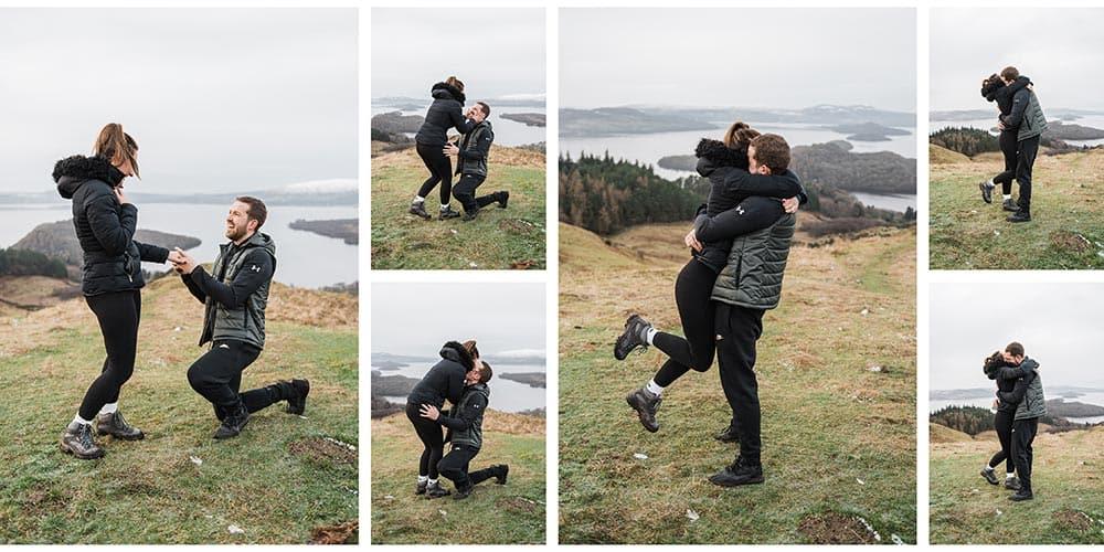 Natural Wedding Photographer Loch Lomond BK Photography