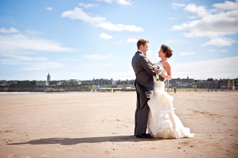St Andrews Wedding Photographerby BK