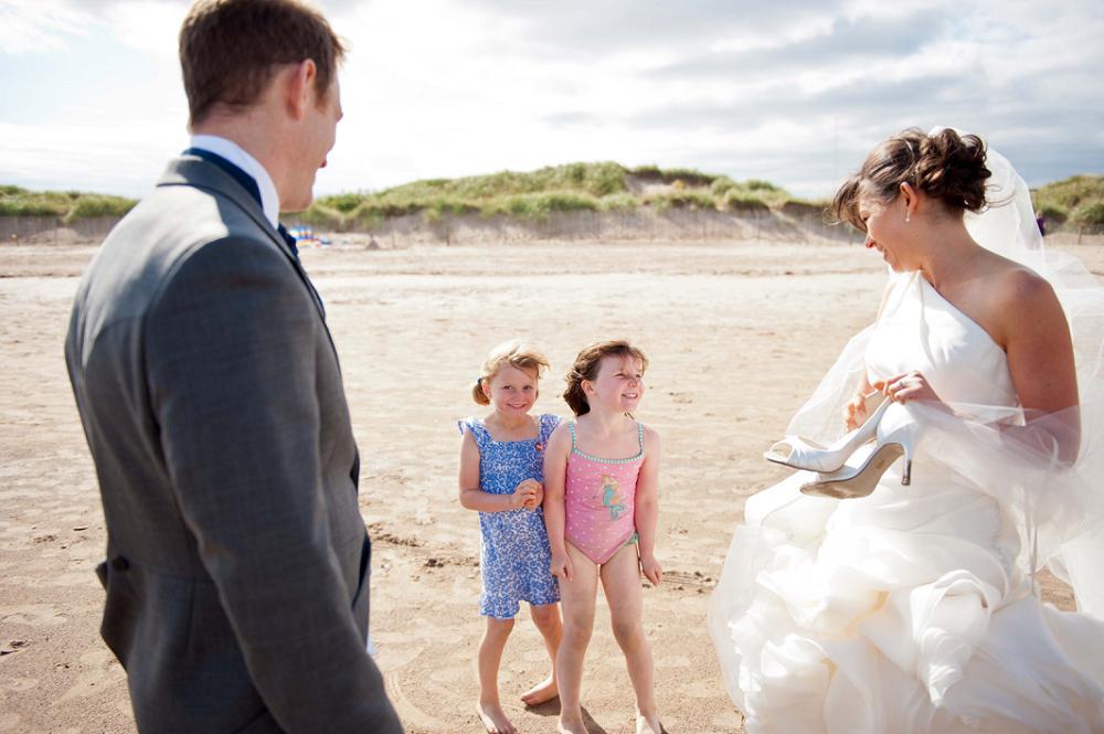 St Andrews Wedding Photographer on the beach