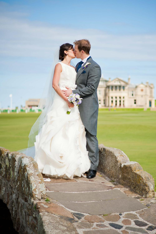 St Andrews Wedding Photographer at the Bridge