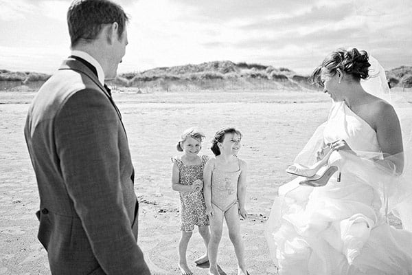 A wedding in St Andrews by photographer BK Photography