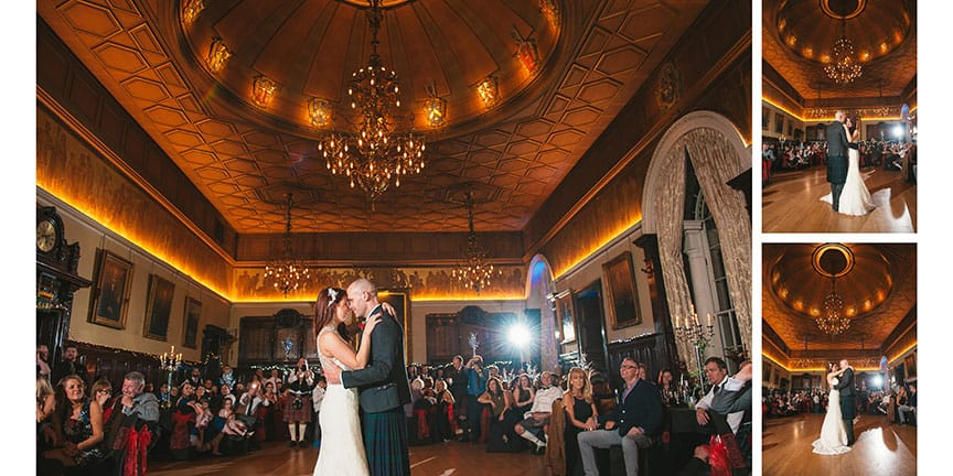 Trades Hall Wedding Photographer by BK Photography