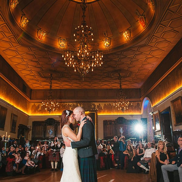 Trades Hall Wedding Photographer | Caroline & Gerry